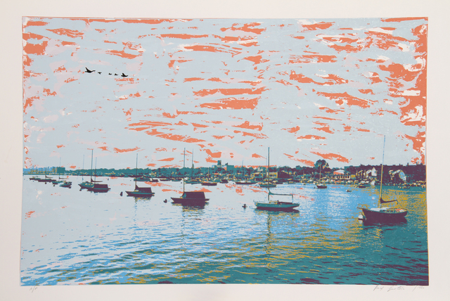 Max Epstein, 'Anchored Flotilla Days Gone By', 1980, RoGallery