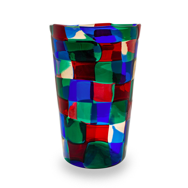 Fulvio Bianconi, 'Pezzato Parigi Vase by Fulvio Bianconi for Venini e Co ca. 1951 ', ca. 1951, Design/Decorative Art, Glass, Kunsthandel Kolhammer