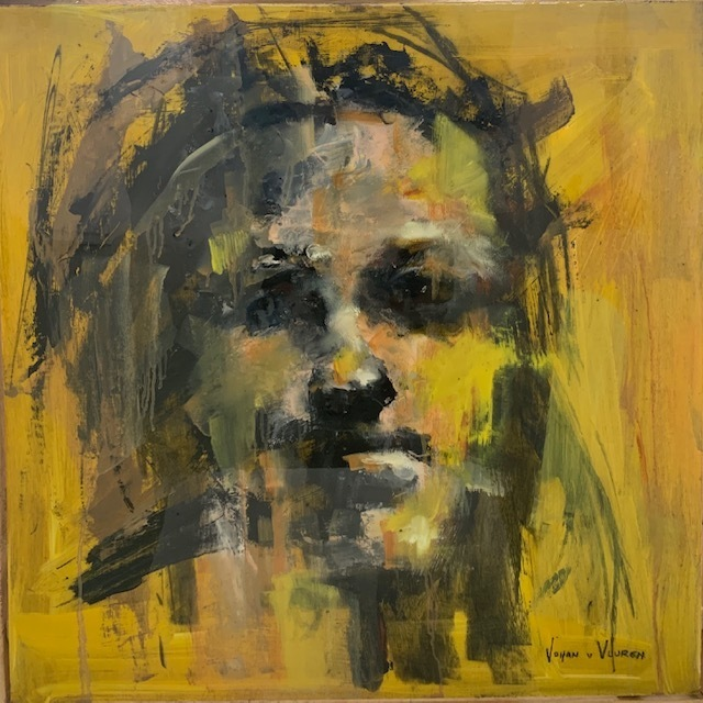 Johan van Vuuren, 'Yellow Face Study', 2019, Axis Art Gallery