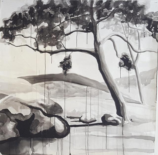 , ' Trees ,' ca. 2017, Nathalia Tsala Gallery