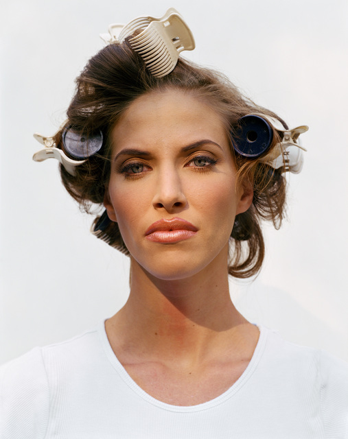 , 'Woman in Curlers,' 2002, Pace/MacGill Gallery