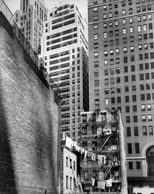 ", 'Construction Old and New (from the series ""Changing New York""),' 1936, Bookstein Projects"