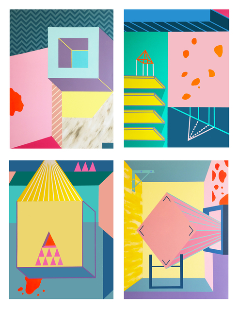 , 'For simon series (I-IV.),' 2017, Faur Zsofi Gallery