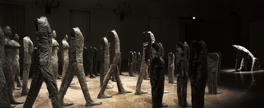 Magdalena Abakanowicz. Crowd and Individual, 2015 