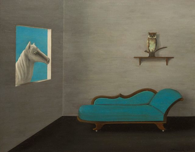 , 'Horse, Owl and Chaise,' 1966, Richard Norton Gallery