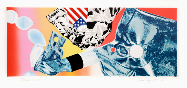 James Rosenquist, 'Flamingo Capsule', 1973, Print, Multicolor Lithograph and Screenprint on White Arches Cover, RoGallery