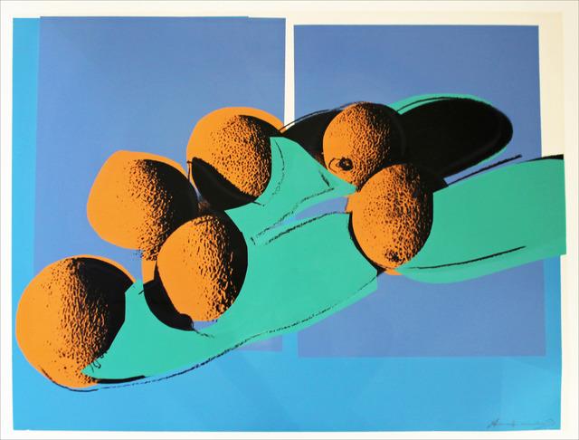 Andy Warhol, 'Space Fruit: Cantaloupes I (FS II.201)', 1979, Print, Screenprint, Revolver Gallery