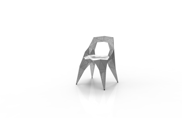 , 'MC008-D-Matt (Endless Form Chair Series),' 2018, Gallery ALL