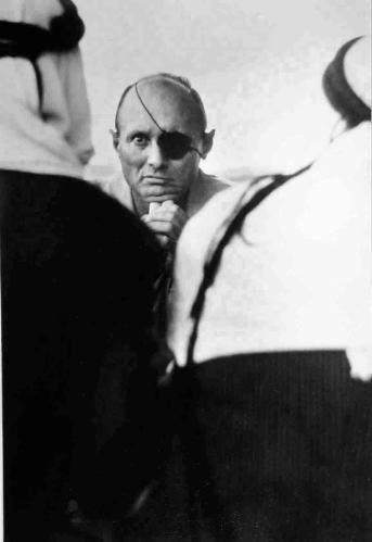 Micha Bar-Am, 'Moshe Dayan, Kalandiya refugee camp, West Bank', 1967, Vision Neil Folberg Gallery