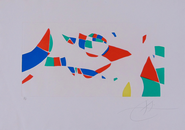 , 'Hommage to Pierre Matisse, from: Etchings for an Exhibition,' 1973, Gilden's Art Gallery