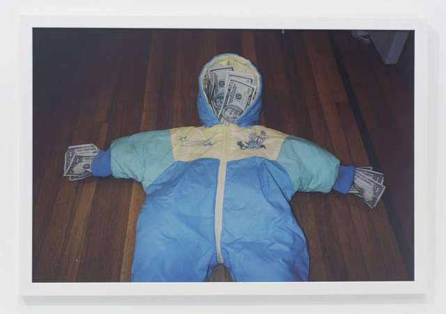 , 'Baby hooded onesie,' 2004, The Hole
