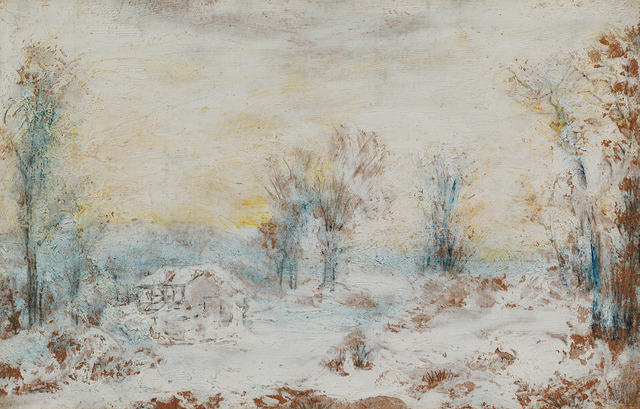 , 'Snow Scene,' , Questroyal Fine Art