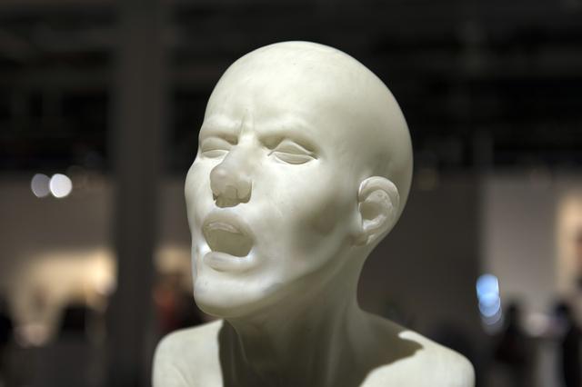 , 'Head Bristol,' 2016, Galerie Kuzebauch