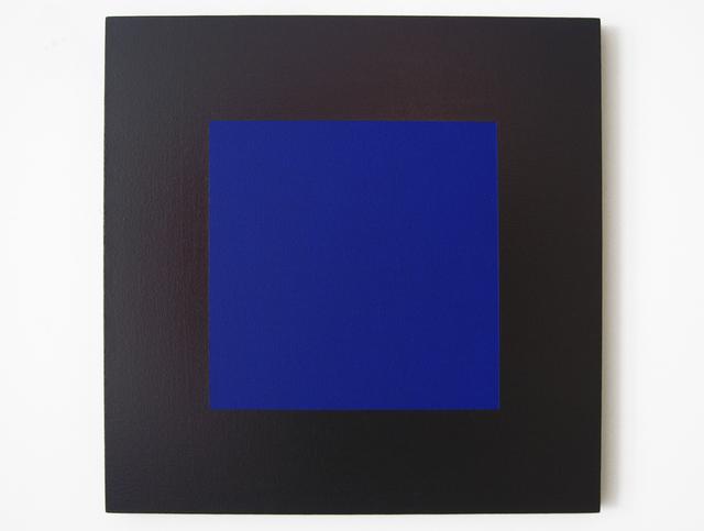 Claude Tousignant, 'Quadrangle #1 en bleu et brun-rouge (suite Hommage à Malevitch)', 2008, Art Mûr