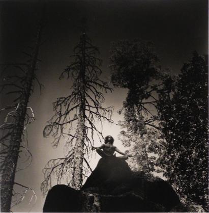 Eikoh Hosoe, 'Man on Rock Top', 1975, Bill Hodges Gallery