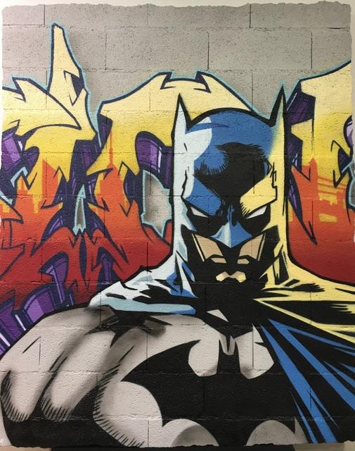 , 'BATMAN,' 2017, Galerie Cortade Art