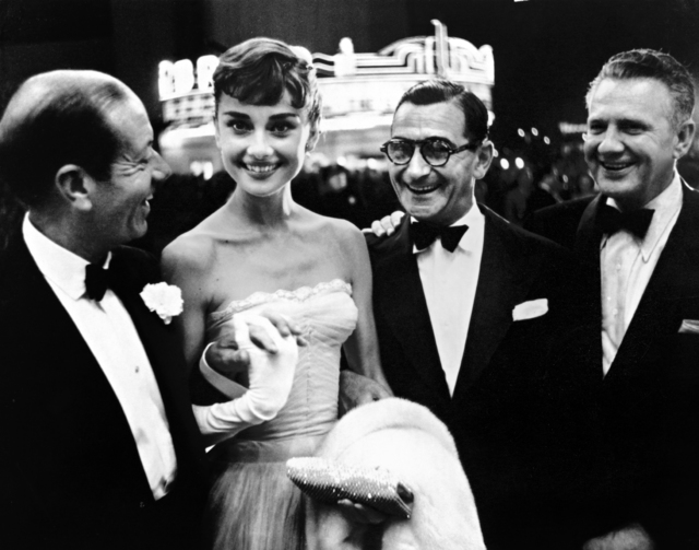 , 'Cole Porter, Audrey Hepburn, Irving Berlin, and Don Hartman,' ca. 1950, Staley-Wise Gallery