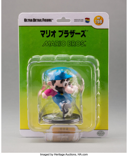 Nintendo, 'Mario, from Mario Bros. (UDF #198)', 2013, Other, Painted cast vinyl, Heritage Auctions