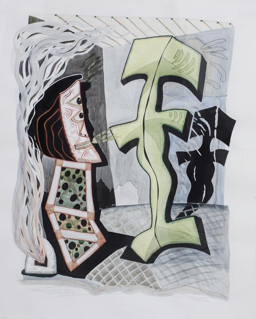 , 'Calentando la cocina con Pettoruti,' 1009, Roldán Moderno