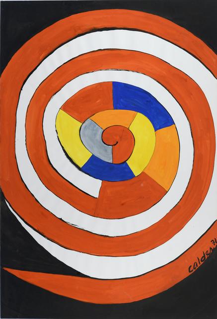 , 'Grande spirale en couleur,' 1971, HELENE BAILLY GALLERY