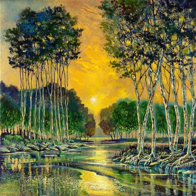 , 'Golden Voice,' , LaMantia Fine Art Inc.