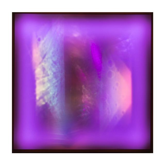 , 'Submerged No. 14, Violet with Orange,' 2017, Circuit12