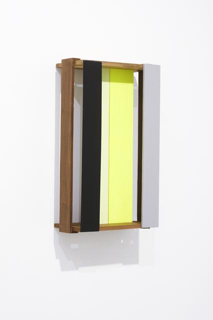 , 'Fundo (Amarelo e Verde),' 2015, Lange + Pult