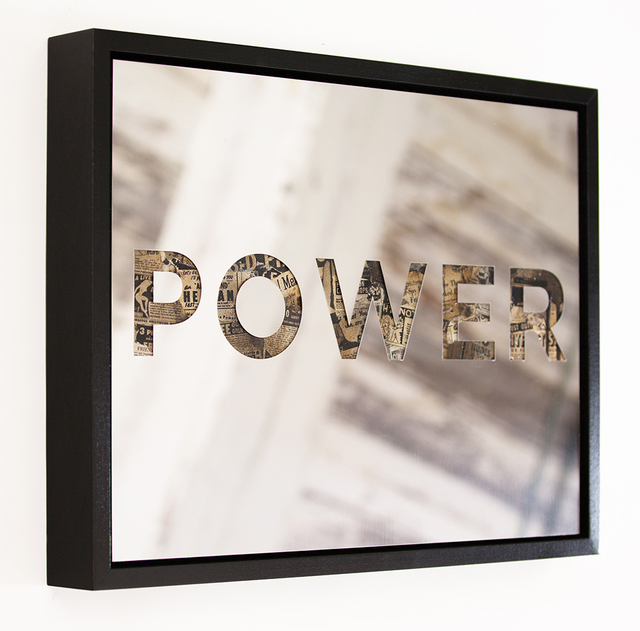 , 'POWER,' 2015, The Untitled Space