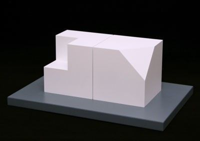 , 'Cube Without a Corner and Cube Without a Cube,' 2005, Vertu Fine Art