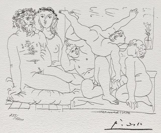 Pablo Picasso, 'Suite Vollard (Planche LIV)', 1973, ByNewArt
