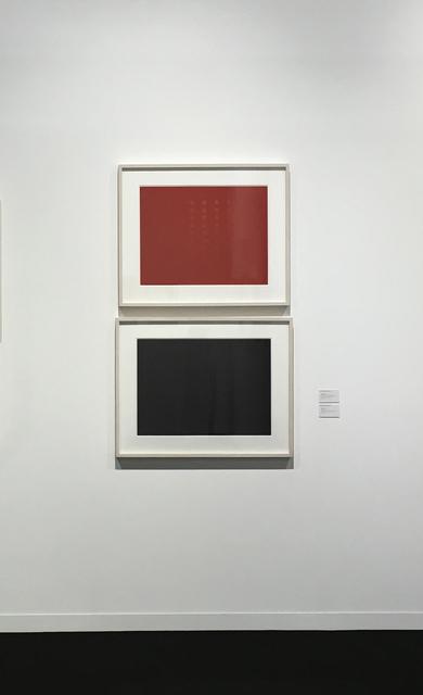 , 'Read my lips,' 2004, Bartha Contemporary