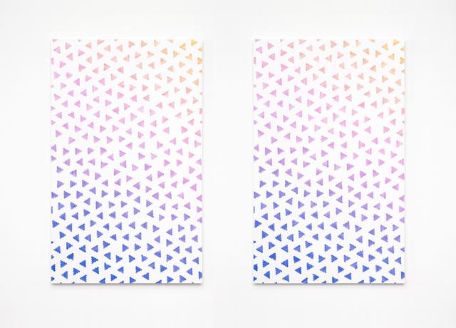 , 'Loop (diptych) ,' 2015, Annka Kultys Gallery