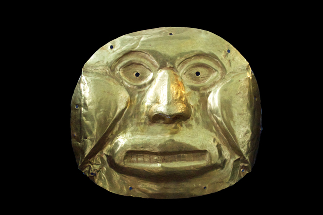 , 'Calima Gold Face Mask,' 0-800, Muzeion Gallery