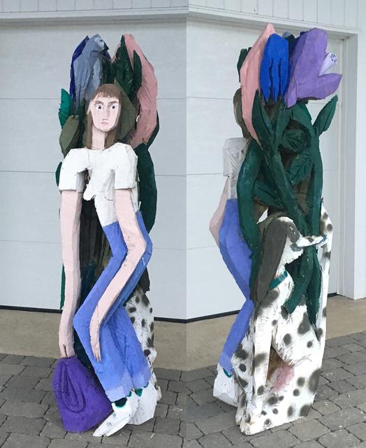 , 'Girl with Purple Bag,' 2018, Neumann Wolfson Art