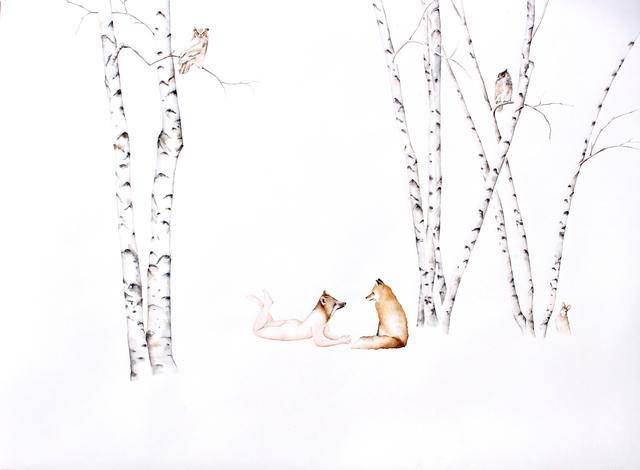 , 'Fox Apprentice #1,' 2016, Jenn Singer Gallery