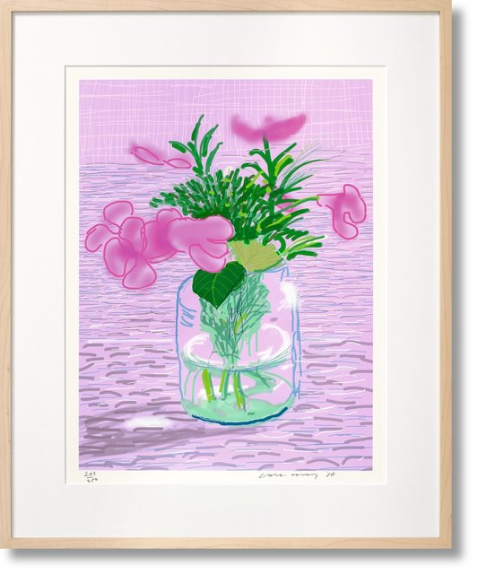 , 'David Hockney Art 'Edition A ' ipad Flower Series (Taschen Sumo Edition),' 2010, Mr & Mrs Clark's