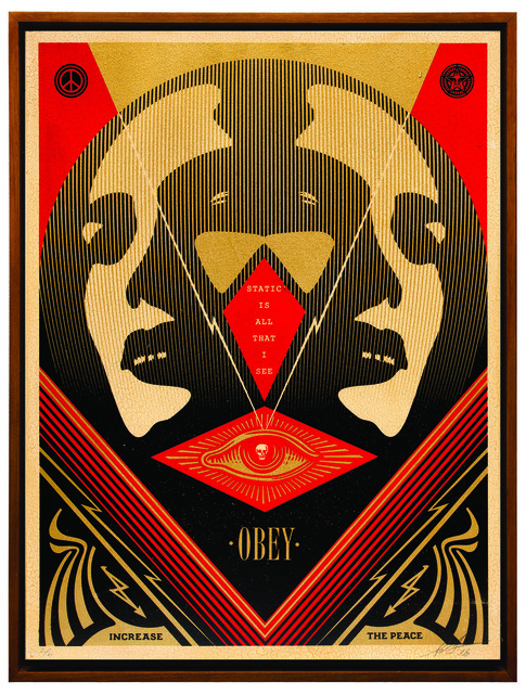Shepard Fairey (OBEY), 'I See Static', 2016, Underdogs Gallery