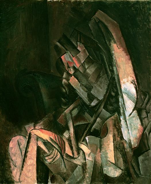 Pablo Picasso, 'Femme assise dans un fauteuil (Woman Sitting in an Armchair),' 1910, Fondation Beyeler