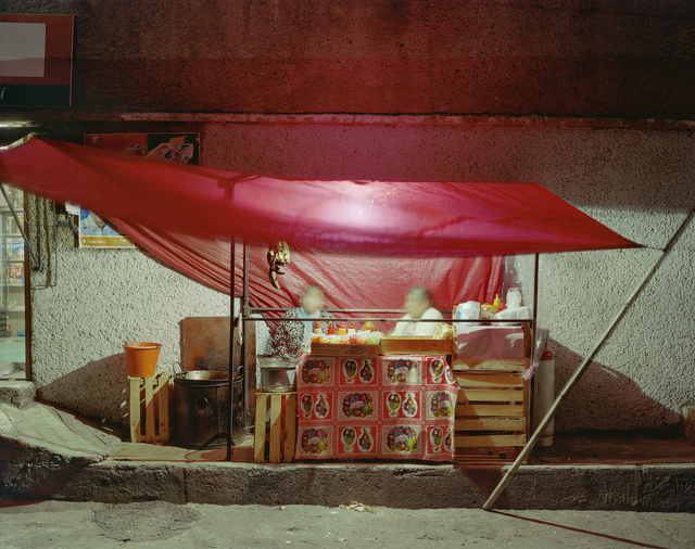 , 'Small Tent Taco Stand, Independencia, Naucalpan, Mexico State, Mexico,' 2006, Robert Klein Gallery