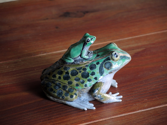 , 'FROG AND CHILD,' 2016, Sladmore