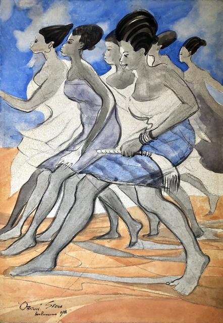 , 'Obitun Dancers,' 1988, TAFETA
