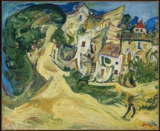 , 'Landscape at Cagnes,' 1922, Galerie Thomas