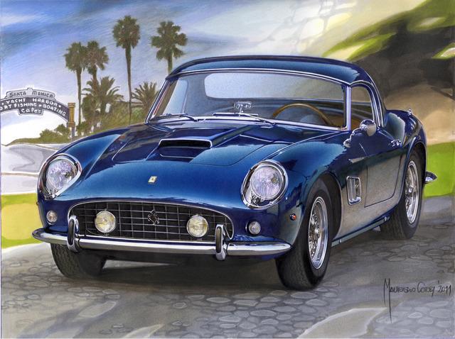 , '250 GT California,' 2011, Galleria GUM