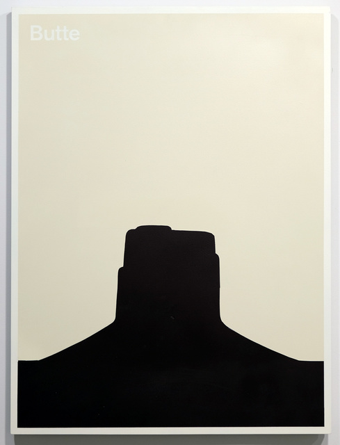 , 'Butte,' 2015, Resource Art