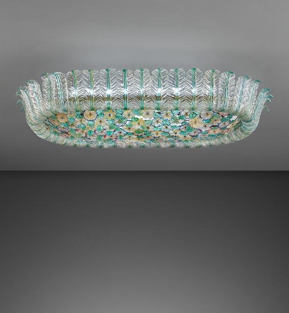Flavio Poli, 'Large ceiling light', 1950s, Phillips