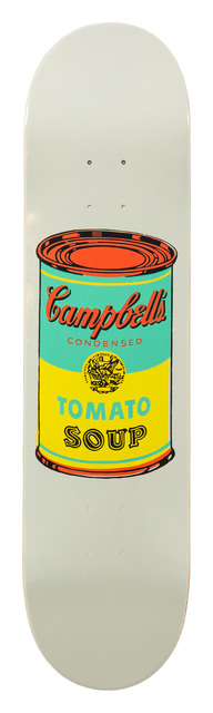 Andy Warhol, 'Colored Campbell's Soup Yellow', 2019, Installation, Screenprint on 7 ply grade A  Canadian maple wood., artrepublic