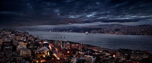 David Drebin, 'The Bosphorus, Istanbul, Turkey', 2011, Photography, Chromogenic Print, CHROMA GALLERY