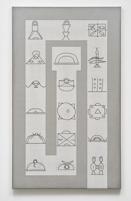 , 'Genesis: Die Schöpfung der Lenapeindianer (Amerika),' 1993, Galerie Judith Andreae
