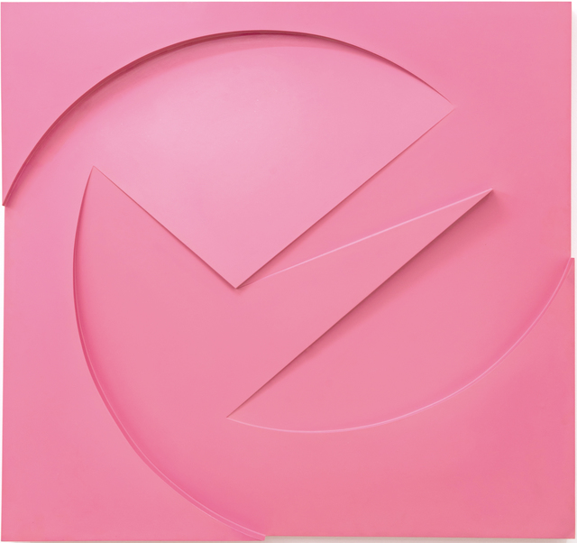 , 'Pink Relief,' 1963, Hales Gallery