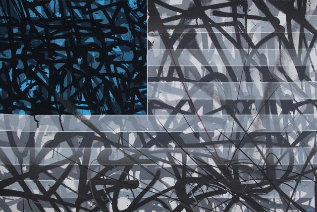 Saber, 'Blue Flag', 2013, Julien's Auctions